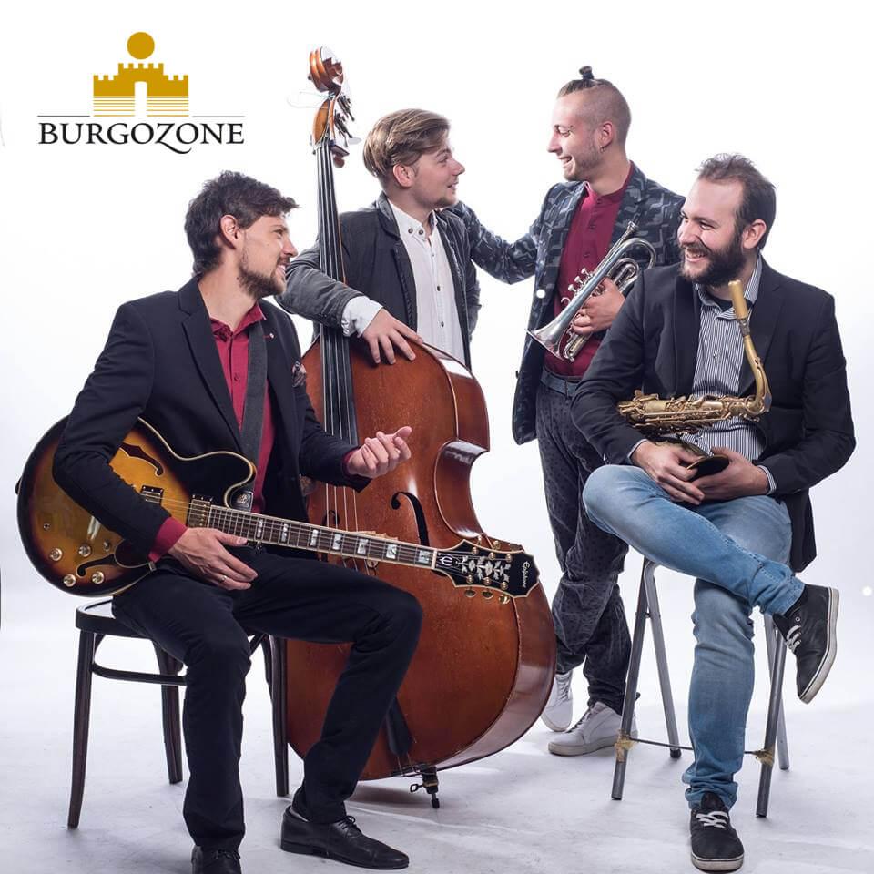 Бургозоне на сцената на джаза
