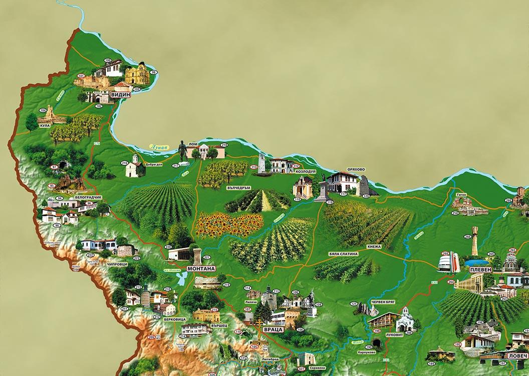 В региона на Шато Бургозоне